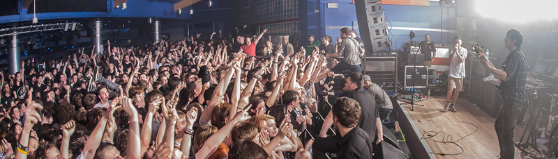 Crowd in Asylum